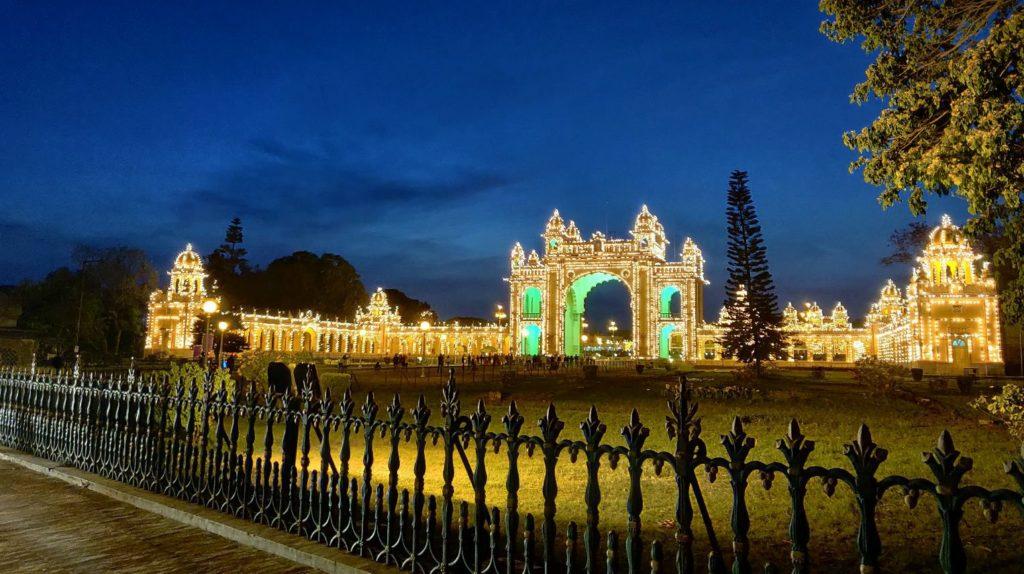 Mysore palace- one plus 6 - night photography